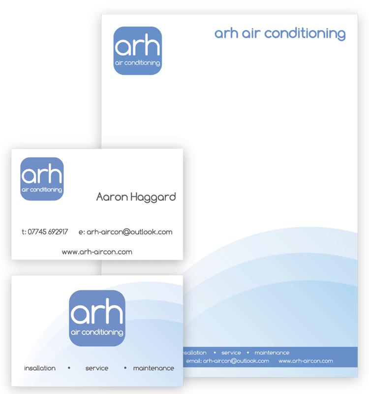Heather Hulbert WordPress Website Design - Portfolio - ARH air conditioning