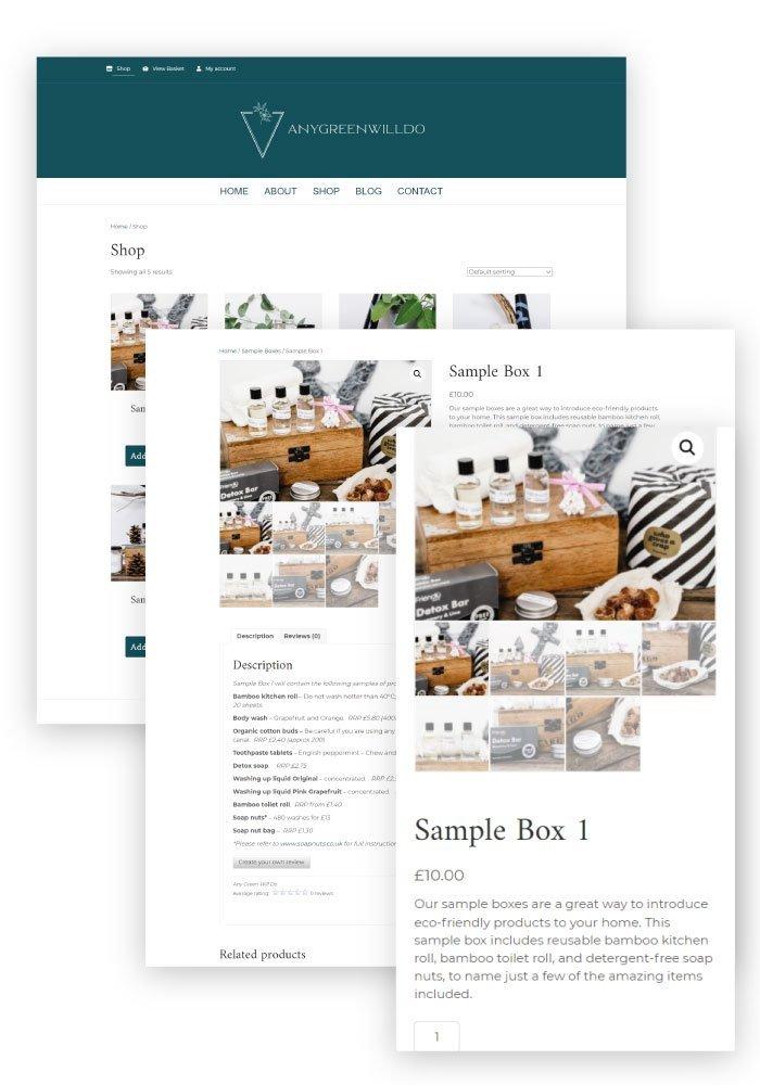 Heather Hulbert Designs Portfolio Client - Any Green Will Do