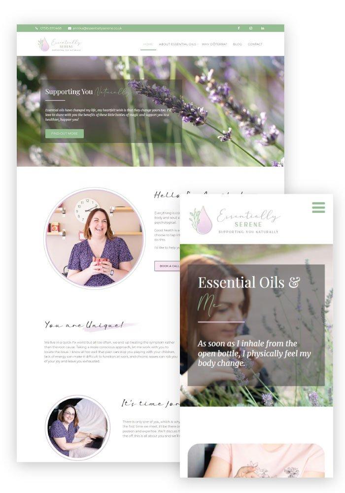 Heather Hulbert Designs Portfolio Client - Essentially Serene