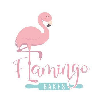 Flamingo Bakes Logo
